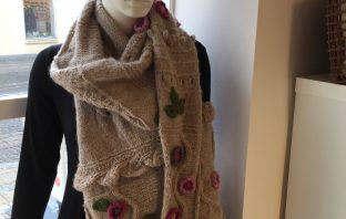 Blomster sjalet