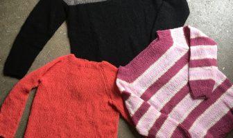 37ebb5fba89 Præstø blusen – En let bluse med raglan, som alle kan strikke